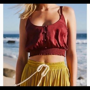 Free People NWT You Honey Top